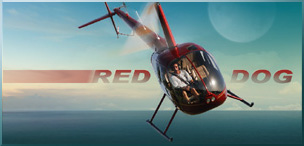 Red Dog Helicopters  Filming The Aerial Shots | DIY Network TV Series